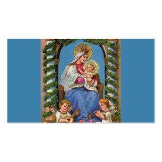 Virgen María y bebé Jesús Tarjeta De Visita