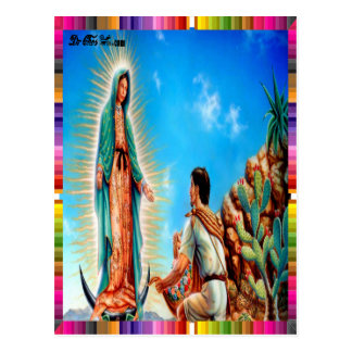 VIRGEN MÉXICO DE GUADALUPE 04 PRODUCTOS ADAPTABLES TARJETA POSTAL