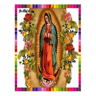 VIRGEN MÉXICO DE GUADALUPE 07 PRODUCTOS ADAPTABLES POSTAL