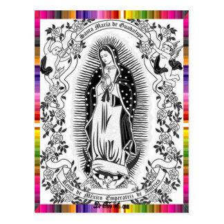 VIRGEN MÉXICO DE GUADALUPE 09 PRODUCTOS ADAPTABLES POSTALES