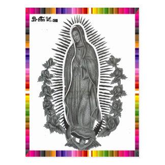 VIRGEN MÉXICO DE GUADALUPE 13 PRODUCTOS ADAPTABLES POSTALES