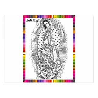 VIRGEN MÉXICO DE GUADALUPE 16 PRODUCTOS ADAPTABLES POSTAL