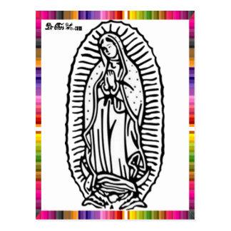 VIRGEN MÉXICO DE GUADALUPE 18 PRODUCTOS ADAPTABLES TARJETAS POSTALES
