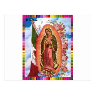 VIRGEN MÉXICO DE GUADALUPE 22 PRODUCTOS ADAPTABLES TARJETAS POSTALES