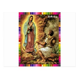 VIRGEN MÉXICO DE GUADALUPE 25 PRODUCTOS ADAPTABLES TARJETA POSTAL