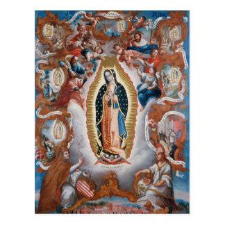 """Virgen postal de Guadalupe"""
