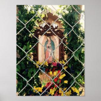 Virgen urbana póster