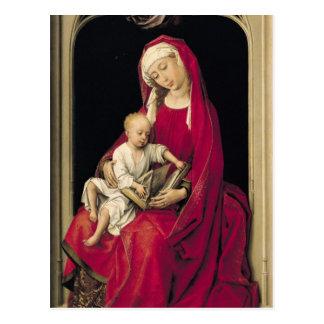 Virgen y niño, 1464 postal
