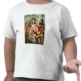 Virgen y niño con los SS. Anne y José Camisetas