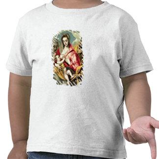 Virgen y niño con los SS. Anne y José Camiseta