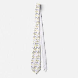 Virginia Occidental - salvaje y loca Corbata Personalizada