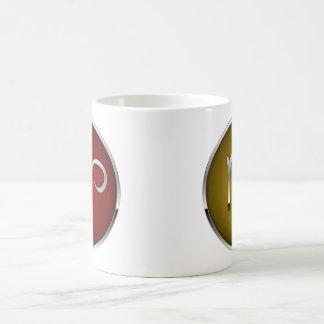 Virgo del aries de la taza de la muestra del