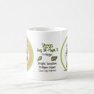 Virgo - la Virgen Taza De Café