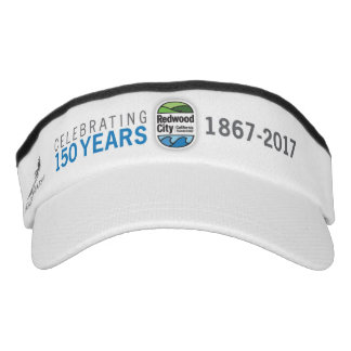 Visera 150o aniversario de Redwood City