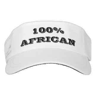 Visera AFRICANO del 100%
