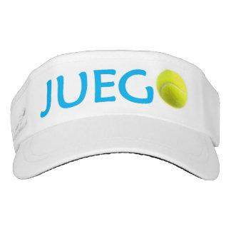 Visera del tenis de Juego Visera