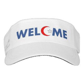 Visera ¡Los musulmanes dan la bienvenida en los E.E.U.U.!