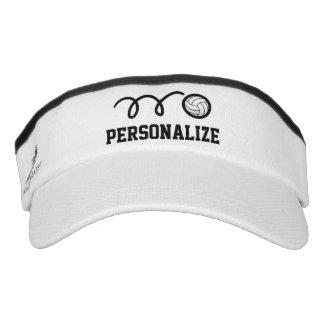 Visera personalizada del voleibol para los hombres visera