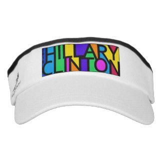 Visera Visera colorido 2016 de Hillary Clinton
