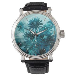Visión azul relojes de pulsera
