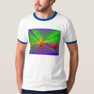 visión de túnel con café express camisetas