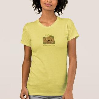 Visión del juego del safari camiseta