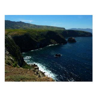 Visión desde la isla de Santa Cruz en las Islas Postal