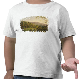 Visión en Matlock Dale mirando hacia la roca negr Camiseta