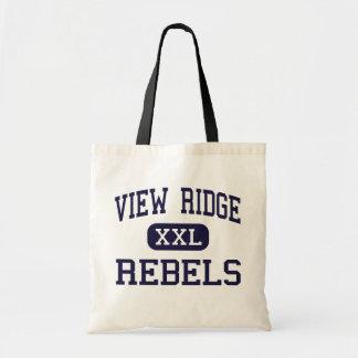 Visión Ridge - rebeldes - joven - Ridgefield Bolsa Tela Barata