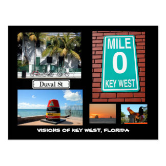 Visiones de Key West, la Florida Postal