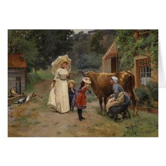 Visita a la tarjeta de la granja