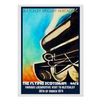 Visita del Scotsman del vuelo a la impresión del