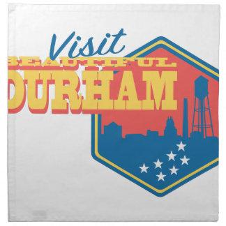 Visita Durham hermoso Servilleta De Tela