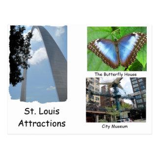 Visita St. Louis. Postal