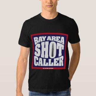 Visitante del tiro del área de la bahía camisas