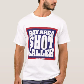 Visitante del tiro del área de la bahía camiseta