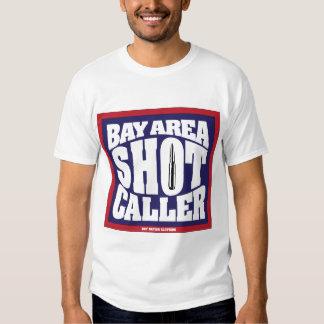 Visitante del tiro del área de la bahía camisetas
