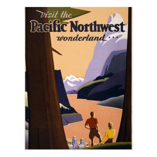 Visite el país de las maravillas del noroeste postal