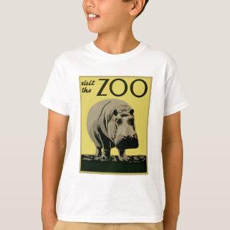 Visite el parque zoológico camiseta
