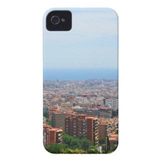 Vista aérea de Barcelona, España Funda Para iPhone 4 De Case-Mate