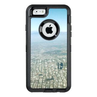 Vista aérea de la ciudad, cielo del horizonte de funda OtterBox defender para iPhone 6