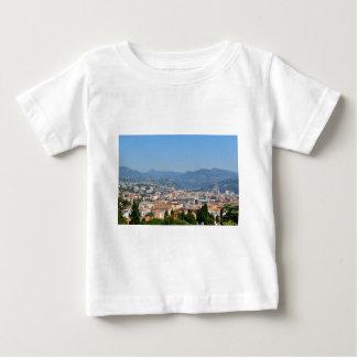 Vista aérea de la ciudad de Niza en Francia Camiseta De Bebé