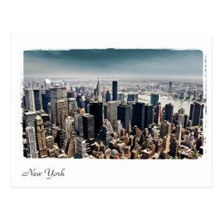 vista aérea de Nueva York Postal
