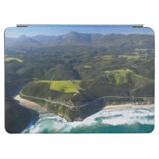 Vista aérea del río de Keurbooms, ruta del jardín Cubierta De iPad Air