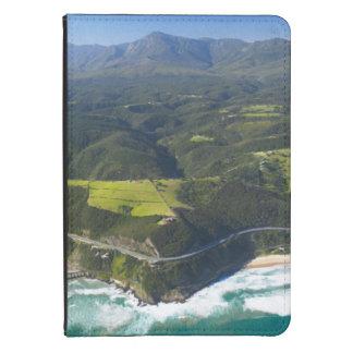 Vista aérea del río de Keurbooms, ruta del jardín Funda De Kindle Touch
