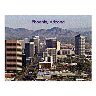 Vista céntrica de Phoenix, Arizona Postal