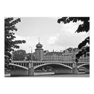 Vista clásica de Praga Foto