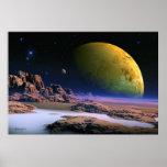 Vista cósmico - arte del espacio poster