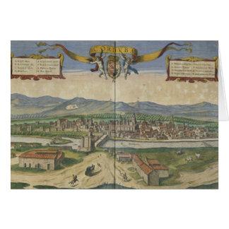Vista de Córdoba Tarjeta De Felicitación