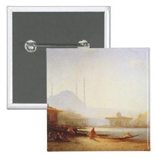 Vista de Estambul, 1864 (aceite en lona) Pins